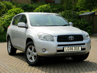2006 56 Toyota RAV4 2.0 XT5 5dr WITH LEATHER+SATNAV+SUNROOF++