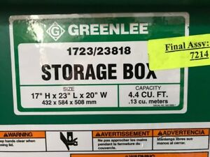 Greenlee Toolbox 1723