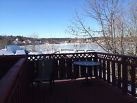 Riverview one bedroom  with a small den area/sundeck 795 heated