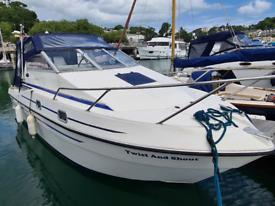 27ft Fairline Falcon Motorcruiser Boat