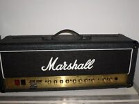 Marshall dsl 100 head with voodoo amp deluxe mods