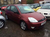 Ford Fiesta Zetec 1.4 2003 reg 1 year mot 48,000 miles only mint condition