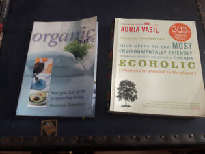 Organic home and ecoholic guides to toxin free living