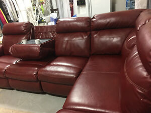 Leather Sectional for Sale - PAID over $2500 Sacrifice $850