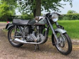 1953 Norton International Clubmans 500cc TT Factory Special Order Number 16