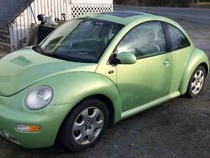 2003 Volkswagen Beetle 1.9 TDS TURBOCHARGE Coupe (2 door)