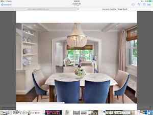 Chanteuse Glass Chandelier (BRAND NEW) *GREAT PRICE* North Shore Greater Vancouver Area image 3
