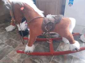 Larger rocking horse