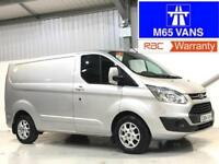 64 FORD TRANSIT CUSTOM LIMITED 2.2TDCi 125PS 290 L1H1 SWB SILVER TOP SPEC
