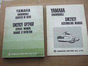1974 YAMAHA SM292F / GP246F MANUALS