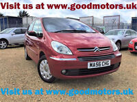 2006 Citroen Picasso Exclusive 1.6HDi Service history Auto lights/Wipers...