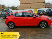 2016 Vauxhall Astra 1.0i Turbo ecoFLEX SRi (s/s) 5dr +20£Tax +Apple/Android Play