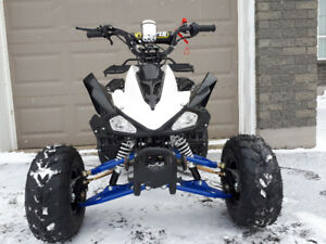"Xmas Special ""PROTAPER"" edition kids or youths 125cc ATV quad"