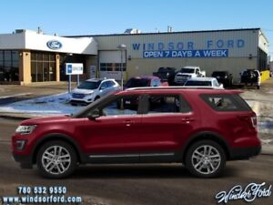 2017 Ford Explorer XLT  - EBONY BLACK