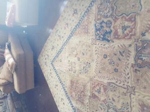 Hand Turfed area rug Furniture World beautiful
