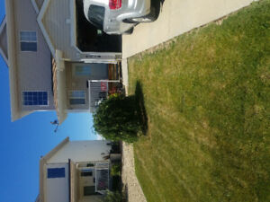 Camrose Duplex with A/C for rent