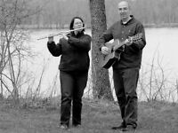 flute and guitar duo available for your event
