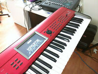 Like New Korg Krome Special Red color for Trade