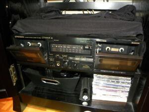 Lecteur de Cassettes 4 pistes PIONEER CT-W530R