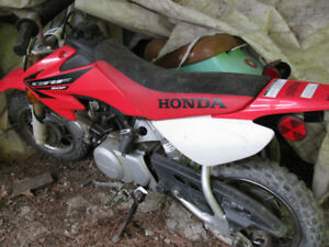 2006 Honda 50cc, bought this bike for my kids but it have been s