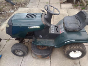 Riding Lawnmower for parts