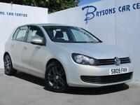 2009 09 Volkswagen Golf 2.0TDI CR ( 110ps ) SE for sale in AYRSHIRE