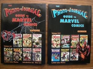 COMPLETE SET PHOTO-JOURNAL GUIDE TO MARVEL COMICS