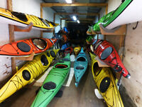 Quality used sea kayaks,starting from $1100,poly and composite