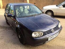 2002 Volkswagen Golf 1.9 SE TDI 100 5dr Auto 5 door Hatchback