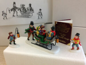 DEPARTMENT 56 - ACCESSORIES - CAROLING WITH THE CRATCHIT FAMILY