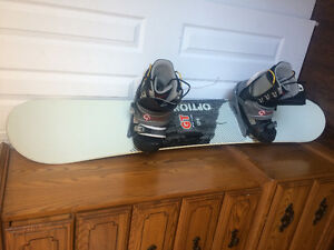 Snowboard Option GT 154 fix/bottes Burton