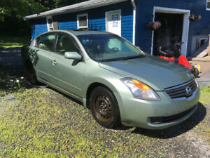 2007 nissan altima 2.5l sl(parting out)