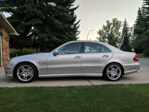 Mercedes E55 AMG Supercharged