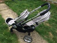 iCandy peach 2 twin buggy