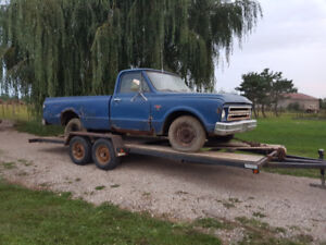 Forsale 1967 project truck