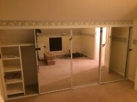 Built in wardrobes for loft room or chalet bungalow