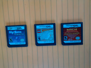 3 Nintendo DS Games for Sale