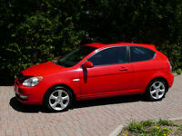 Hyundai Accent GS Sport Low KM Sunroof AC New Tires No Rust Mint