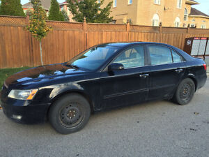 MUST GO - 2006 Hyundai Sonata Sedan, incl, winter tires