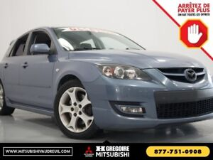 2008 Mazda 3 Mazdaspeed3 MAN A/C GR ELECT MAGS
