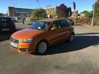 2014 Audi A1 SPORTBACK 1.6 TDI SPORT,IN ORANGE METALLIC WITH MIXED INTERIOR,ALOY