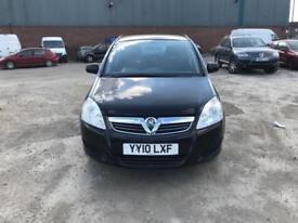 Vauxhall Zafira 1.6 16v ( 115ps ) Exclusiv 7 SEATER - 2010 10-REG - 6 MONTHS MOT