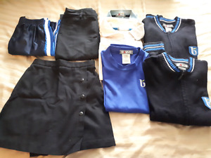College Beaubois uniform - elementary school. Used for 1y only !