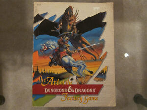The Art of the Dungeons and Dragons Fantasy Game Paperback 1986 Kingston Kingston Area image 1
