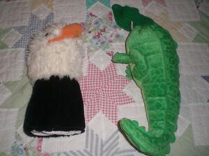 2 animal golf club head covers