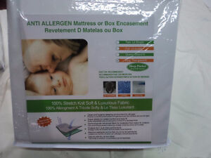 BED BUG MATTRESS AND BOX SPRING ENCASEMENT,Waterproof Kitchener / Waterloo Kitchener Area image 1