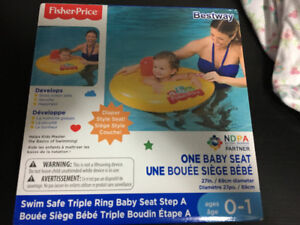 Brand New Fisher Price Learn to Swim Baby Boat