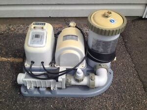 Salt water Pool filter and supplies! 100$!