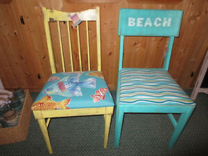 Decorative Beach themed occasional chairs Sarnia Sarnia Area image 1