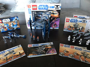 Star Wars Lego Sets (4) - 8014 x2, 8015, and 8016